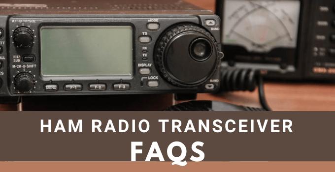Ham Radio Transceiver FAQ