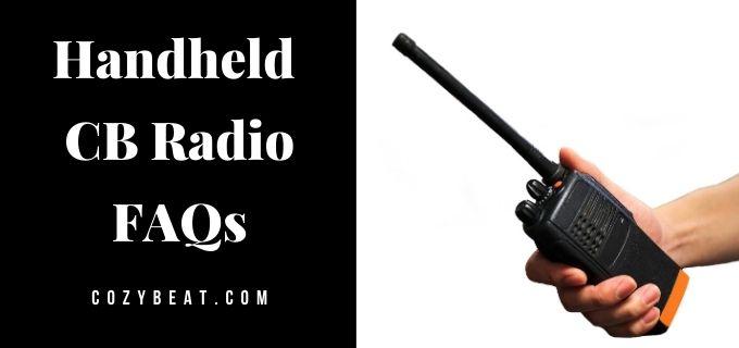 handheld cb radio faqs