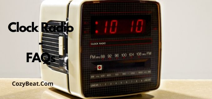 Clock Radio faqs
