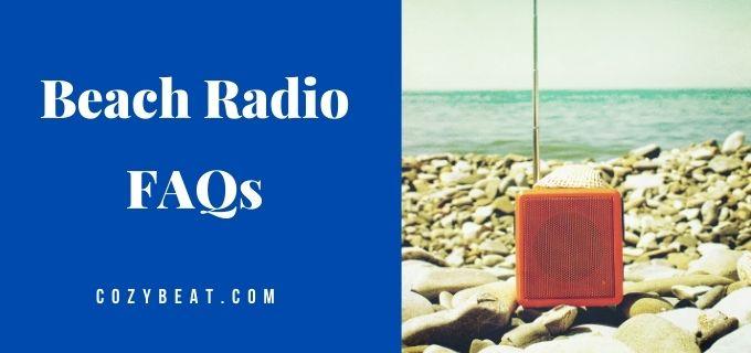 beach radio faqs